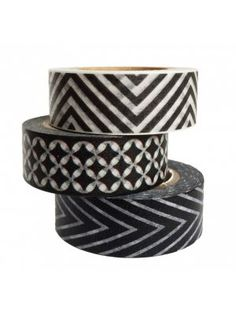 """Making+tape+""""Print"""" #gifts #tape #black #gift #wrapping #white"""