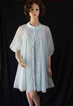 60s Lingerie / Peignoir / Wedding Trousseau / by PetticoatsPlus, $46.00