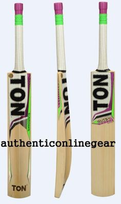 0f22cd0b4347 Ss Ton Gutsy 2017 English Willow Junior Size-5 Cricket Bat Free Grip Knock  Toe
