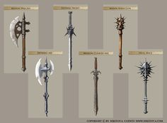 Weapons by SID75.deviantart.com on @deviantART