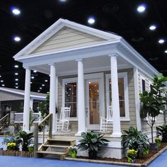 Tiny house plans small house design shd 2012001 for Where can i buy a katrina cottage