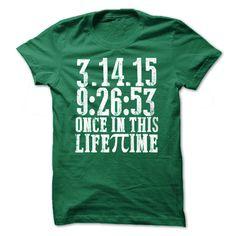 PI DAY 3.14.15 T-Shirts, Hoodies. VIEW DETAIL ==► Funny Tee Shirts