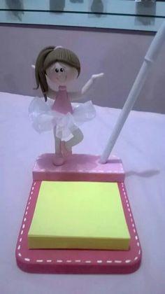 Porta plumas bailarina