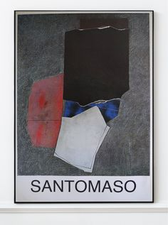 Giuseppe Santomaso - Original Artist Poster 1980's – Art & Vintage Store Ltd Vintage Prints, Vintage Posters, 1980s Art, Original Vintage, Exhibition Poster, Italian Artist, Fine Art Prints, Poster Prints, The Originals