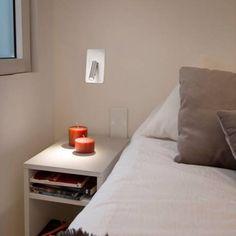empotrable de diseo minimalista con luz led integrada diseado por nahtrang con interrptor en la