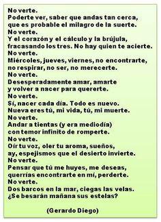 Poema de Gerardo Diego