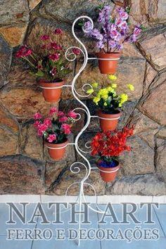 Resultado de imagem para porta plantas com cano  de pvc