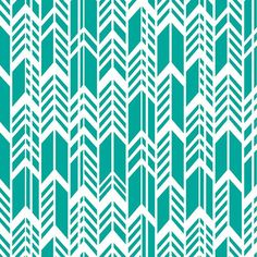 Feathers in Teal