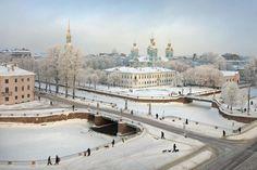 Сказочная карта Петербурга