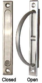 Rotary Edge Pull For Pocket Doors