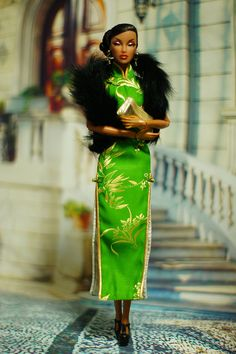 Woman of the Chinese dress | Flickr - Photo Sharing!