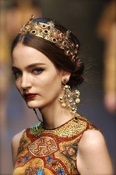 Dolce & Gabbana Autumn/Winter 2013.