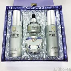Coreana Orthia Hyaluronic White Recovery Skin Care Set #Coreana #333korea #skincare #beauty #koreacosmetics #cosmetics #oppacosmetics #cosmetic #koreancosmetics