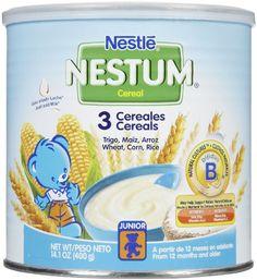 Nestum Toddler Cereal - 3 Cereals - 14.1 oz