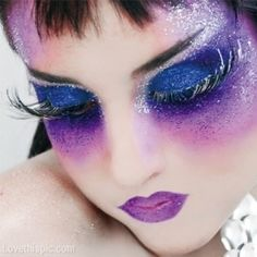 Purple Fantasy Makeup Pictures, Photos, and Images for Facebook, Tumblr, Pinterest, and Twitter
