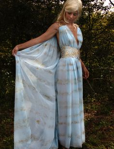 Daenerys Targaryen Qarth Gown Complete Made to by pungopungo