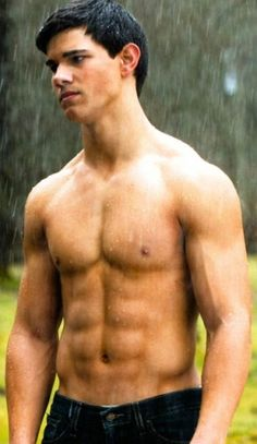 Remarkable, Jacob black with naked