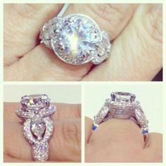 Gorgeous diamond engagement ring.