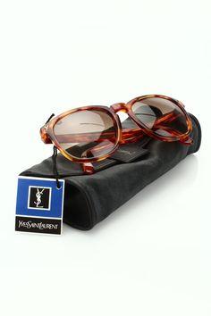 793d0b842d3 Yves Saint Laurent Vintage Tortoise Sunglasses -  88. Threadflip