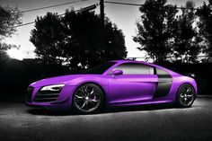 Audi R8 Matt purple