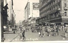 5th and Hill in the 1920s