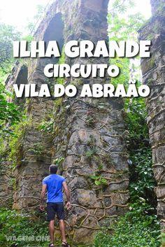 O que fazer em Ilha Grande com chuva: o Circuito na Vila do Abrão possui trilhas de nível fácil para lugares interessantes como o Aqueduto e a Praia do Abraãozinho