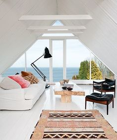 Simple Tips and Tricks: Attic Remodel Plans attic architecture walk in.Attic Window Treehouse attic remodel before and after. Attic Renovation, Attic Remodel, Seaside Style, Boho Style, House By The Sea, Attic Spaces, Style At Home, Home Fashion, My Dream Home