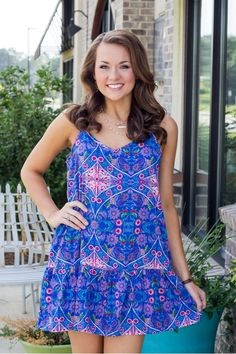 Be My Girl Dress - Blue LOVE all these NEW arrivals!  Check it out!