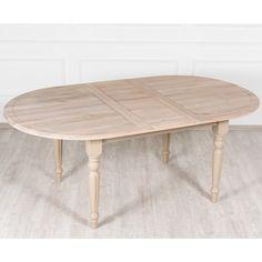 Benedict раскладной стол с дубовой столешницей