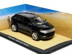 Ex Mag Ford Edge Diecast Model Car from James Bond Quantum of Solace Ford Edge from James Bond (1:43 scale by Ex Mag DY091) This Ford Edge Diecast Model Car from James Bond Quantum of Solace is Black and has working wheels and also comes i (Barcode EAN = 5055414531843) http://www.comparestoreprices.co.uk/december-2016-6/ex-mag-ford-edge-diecast-model-car-from-james-bond-quantum-of-solace.asp