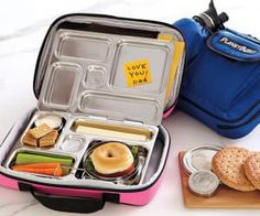 Planet Box Lunch Box, I think these are awesome, wish they weren't so spendy! Planet Box, Planet Lunch Box, Cute Lunch Boxes, Stainless Steel Lunch Box, Boite A Lunch, Lunch Snacks, Healthy Lunches, Lunch Bags, Fruit Snacks