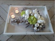 Bekijk de foto van beageltje1 met als titel kerstdecoratie met zijde bloemen en andere inspirerende plaatjes op Welke.nl.