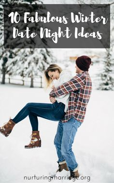 I want to do all of these. So many fun ideas! 10 Great Winter Date Night Ideas - The bleak mid-winter is upon us (at least where we live). So it's definitely time for some romantic, cozy, and adventurous date nights to help with the winter blues. Any of these 10 Great Winter Date Night Ideas below are sure to spice up your marriage, help you and your spouse have fun together, and create happy memories. ***Oh, and the popcorn recipe below is a MUST-TRY. Like, tonight. Make it. You won't…