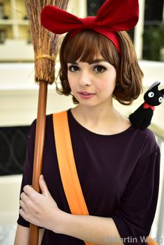 Kiki and Jiji #cosplay at Katsucon 2015 | Ph: Martin Wong