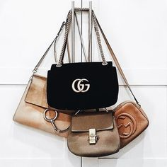 916c4c7a2908 16 Amazing Gucci Marmont in white. images | Couture bags, Gucci bags ...