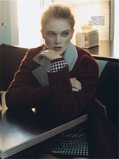 rosie tupper by an le for elle vietnam december 2013