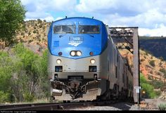 RailPictures.Net Photo: AMTK 169 Amtrak GE P42DC at Canyoncito, New Mexico by Elijah Cross