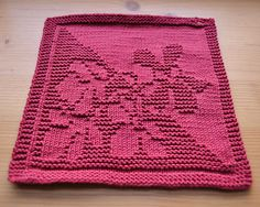Ravelry: Mauerbluemchen - Wallflower - Spüli pattern by Deborah 9