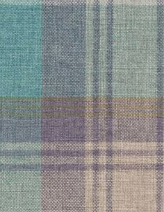 WOVEN CHECK STIRLING AW16 Check Curtains, Curtains With Blinds, Made To Measure Curtains, Colour Board, Curtain Fabric, Bedroom Colors, Home And Garden, Hallway Ideas, Stirling