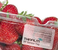 Time-temperature sensor label that tells when your perishable goods have expired