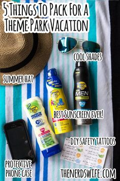 5 Things to Pack for a Theme Park Vacation #BBBestSummer #Shop
