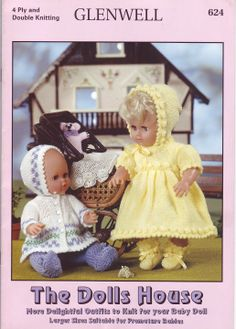 Free Copy of Pattern - Delightful Outfits to Knit for your Baby Doll