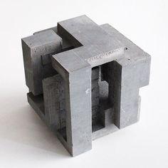 Cubic Geometry 9:5 / 9x9x9in Process: Finished piece, unmolded & cleaned up #moldmaking #casting #workinprogress #formwork #craft #crafts #artsandcrafts #process #architectural #concrete #concreteart #brutalism #brutalist #sculpture #contemporarysculpture #contemporaryart #modernart #artwork #studiowork #atelier #designprocess #objectdesign #foamcore #interiordesign #studiolife #studio #mold #mould #timelapse #worldofartists