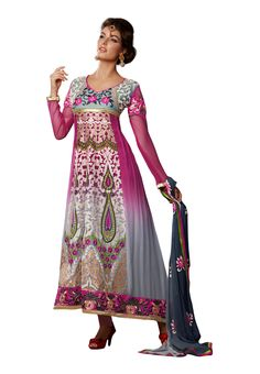 #Attractive Long #Anarkali