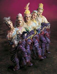 Cirque du Soleil Alegria Show Tour, yikes!