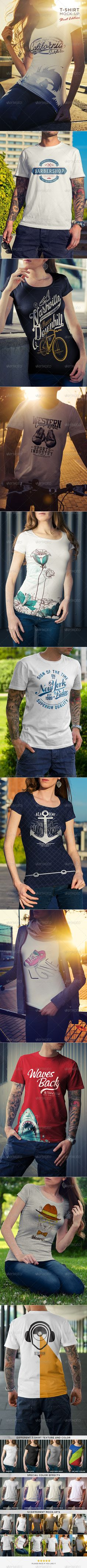 T-Shirt Mock-Up / Street Edition