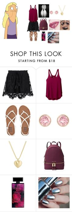 """Courtney Wheeler"" by tinkerprincess26 ❤ liked on Polyvore featuring Chloé, prAna, Billabong, Swarovski, Finn, MICHAEL Michael Kors, Anastasia Beverly Hills, Elizabeth Arden, newchic and Bobsbugers"