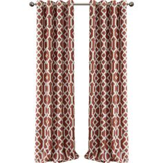 Grayson Blackout Single Curtain Panel Reviews ($40) ❤ liked on Polyvore featuring home, home decor, window treatments, curtains, blackout curtains, blackout window panels, black out curtain panels, blackout window coverings and blackout drapery panels