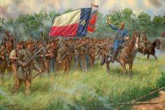 Hood's Brigade at Gettysburg