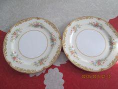 """2 Noritake 10"""" Topaze Dinner Plate by VintageVeneers on Etsy"""